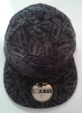 New Era 59Fifty Superman All Over Logo Fitted Hat-New Old Stock - 7 3/4 - 2009