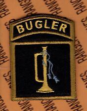 Military Honor Guard Color Guard BUGLER dress uniform 3.25 inch patch