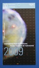 CANADA (#2325a) 2009 International Year of Astronomy MNH booklet