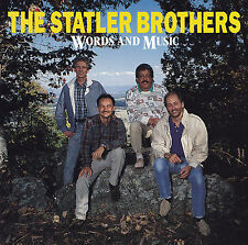 THE STATLER BROTHERS - CD - WORDS AND MUSIC