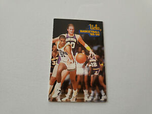 JS15 UCLA 1985/86 Men's Basketball Pocket Schedule