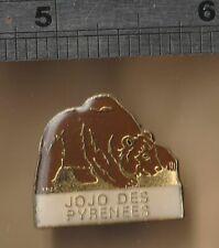 Eurasian Brown Bear - mammal animal pin badge