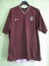 Maillot PSG Paris saint Germain PSG 2006 Marron jersey Nike Exterieur - L