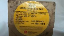 One Roll 70 mm x 100 feet Kodak Plus X Aerographic film.
