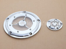 Chrome Clarity Deep Cut Derby Timer Timing Cover for 1999-2014 Harley Twin Cam