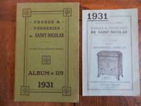 Katalog Gewerbe Forges Und Gießereien Von Weihnachtsmänner Ardennes Tarif 1931