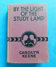 By the Light of the Study Lamp by Carolyn Keene Dana Girls #1 1934 HB