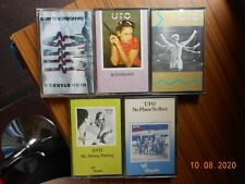 UFO  x 5  cassette tapes