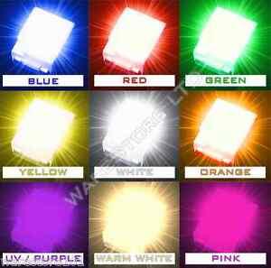 SMD/SMT LED 1210 3528 SMT PLCC-2 Red Blue Green White Yellow Orange UV Bright