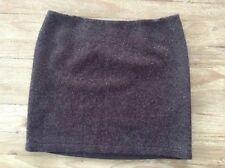 J Jill Brown Sequin Embellished Wool Blend Pencil Skirt Size 14 Petite