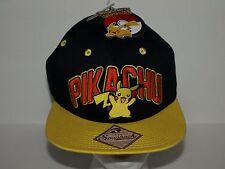 NWT Pikachu Pokemon Snapback Baseball Hat NOS