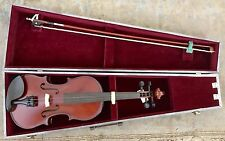 Borg Model MCV41 4/4 Full Size Beginner's Violin w/ Handmade Carry Case