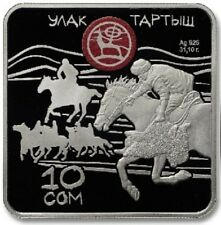 Kyrgyzstan / Kirgisistan - 10 Som Ulak tartysh
