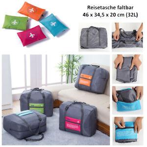 Reisetasche faltbar Bordgepäck Tasche Sporttasche Umhängetasche Freizeittasche