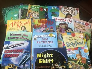 15 Book Lot Of Beginning Readers/All Interests/Scholastic/Brain Books/Dr.Seuss