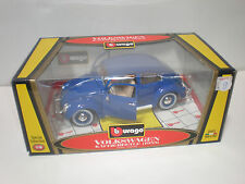 1/18 1955 Volkswagen Bettle blue/ Burago
