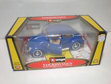 1/18 1955 Volkswagen Bettle blue/ Burago