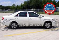 2002-2006 Toyota Camry 6Pc Chrome Pillar Post Trim Stainless Steel Door Cover