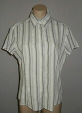 Next Women's Cotton Blend Semi Fitted Tops & Shirts