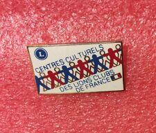 Pins LIONS CLUB Centres Culturels Des Lions Club De France