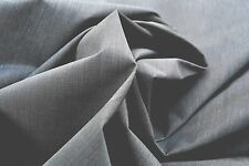 D123  LUXURIOUS DARK PEAT GREY ROBUST WAXY WATERPROOF 100% MICRO FIBRE