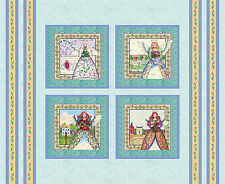 Christmas Fabric Angel Religious Angelic Heaven Holiday CP61505 ~ Pillow Panel