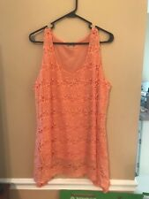 Women's One World Cami Tank Top Shirt 1x