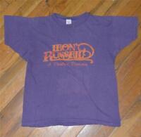 RaRe *1972-73 LEON RUSSELL* vintage rock concert tour t-shirt (M) 70s Folk Blues