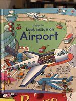 Look Inside an Airport by Rob Lloyd Jones- Super FUN & INTERACTIVE!