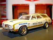 "1972 72 OLDSMOBILE VISTA CRUISER ""HURST"" INDY 500 LIMITED EDITION WAGON1/64 GL"