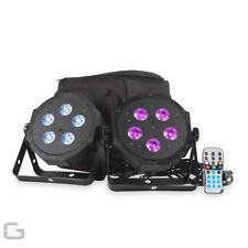 Sistemas y paquetes de luces de escenario LED para DJ y espectáculos