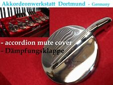 Akkordeon- Dämpfungsklappe, accordion mute Cover  for Scandalli and others