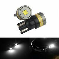 2x W5W T10 501 194 168 Ampoules LED 12V Blanc Xenon 5W Veilleuses voiture Lampe
