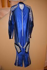 Phenix Mens L Norge Ski Team One Piece Padded DH / GS Speed Suit Size, Ex Cond