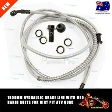 M10 Banjo Bolts 1.8M (Long) Hydraulic Master Cylinder Brake Line/Hose/Cable