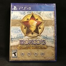 Tropico 5: Complete Collection (Sony PlayStation 4, 2016) NEW / Region Free