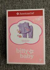American Girl Cuddly Giraffe Pajamas for Bitty Baby Dolls - New - Free Shipping
