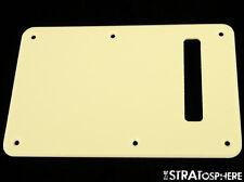 *NEW Cream TREMOLO BACK COVER for Fender Standard Stratocaster Strat 1 Ply