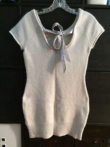 """4"" Women's Sweater Angora Wool Size S Very Cute"