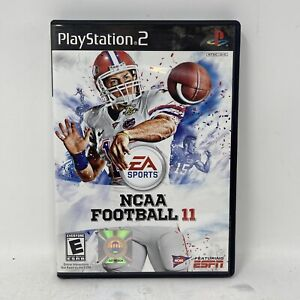 NCAA Football 11 (Sony PlayStation 2, 2010) Ps2 Complete