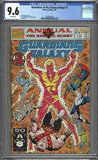 Guardians of the Galaxy Annual #1 CGC 9.6 WP ~ 1st appearance of KRUGARR (GOTG2)