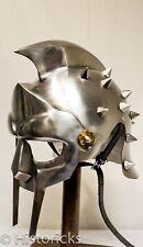 Gladiator Maximus Helmet / fitted liner - movie / film / larp / role-play / fanc