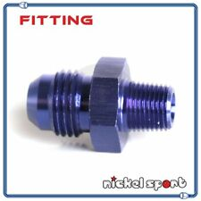 4AN AN4 to 1/8'' NPT Straight Aluminum Fitting Adapter