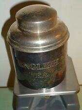 Old Reed & Barton English Tea Container With Top