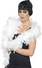 Ladies 20s Deluxe Feather Boa Burlesque Hen Fancy Dress Costume Outfit Accessory