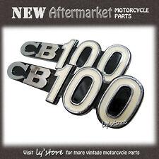 [69] HONDA CB100 CB100K0 CB100K1 K0 K1 SIDE COVER EMBLEM 1PAIR L+R