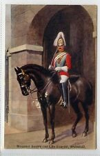 (Lt267-384)  Mounted Sentry (1st Lifeguards), Whitehall  c1930, Used G