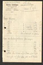 """LOURDES (65) OBJETS SOUVENIRS de PIETE """"GALERIES CATHOLIQUES"""""""