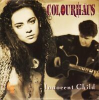 "COLOURHAUS innocent child NEAR MINT DISC A8553 interscope 7"" PS EX/EX"