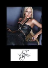 LADY GAGA #3 Signed Photo Print A5 Mounted Photo Print - FREE DELIVERY
